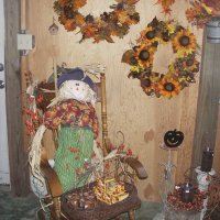 Fall shop displays