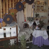Part of the Lavender Shop area